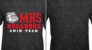 Bulldogs mascot swim team Design Idea