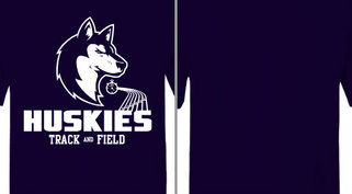 Huskies Track and Field Design Idea