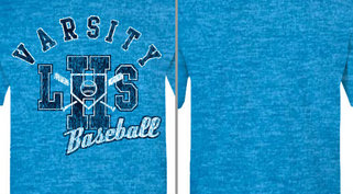 Vintage Athletic Baseball Design Idea