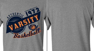 Vintage Athletic Varsity Basketball Design Idea