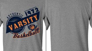 Vintage Athletic Varsity Basketball Design Idea
