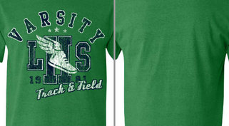 Vintage Athletic Varsity Track and Field Design Idea