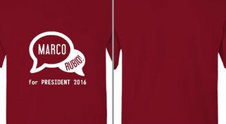 Marco Rubio President Design Idea