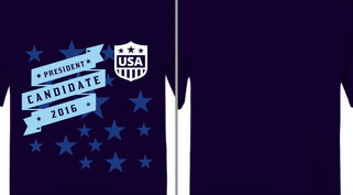 Candidate 2016 USA Stars Design Idea
