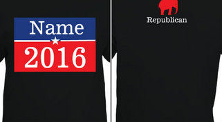 Vote Republican 2016 Design Idea