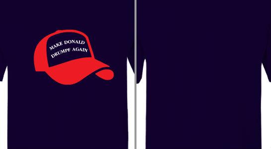 Make Donald Drumpf Again Design Idea