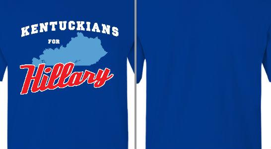 Kentuckians for Hillary Design Idea