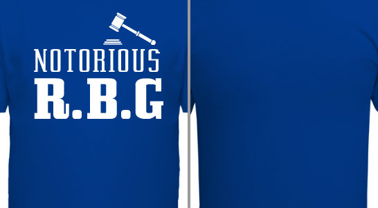 Notorious RBG Design Idea