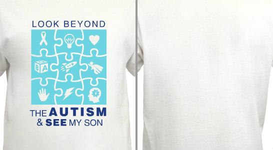 Look Beyond Autism Design Idea