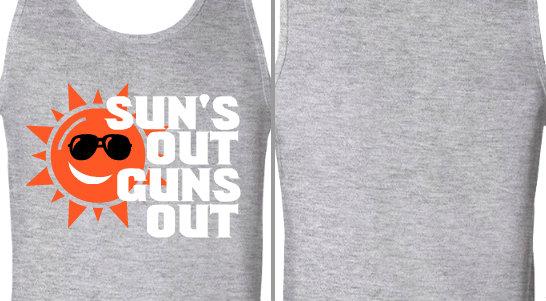 Sun's Out Guns Out Design Idea