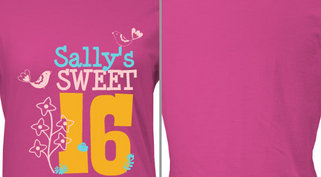 Sally's Sweet 16 Design Idea