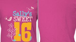 Sally's Sweet 16 Design Idea