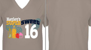 Super Sweet 16 Birthday Design Idea