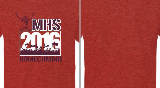 Homecoming crowd year Design Idea
