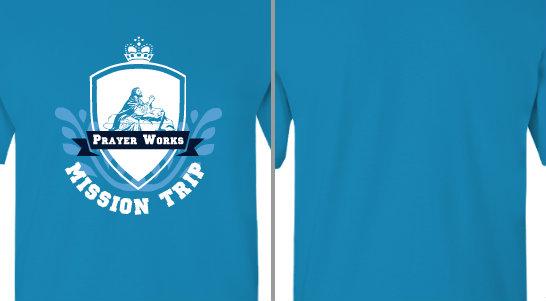 Badge Ribbon Mission Trip Design Idea