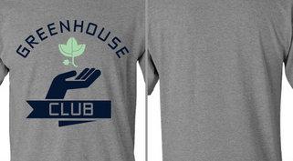 Greenhouse Club Plant Hand Design Idea