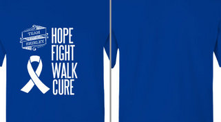 Hope Fight Walk Cure Design Idea