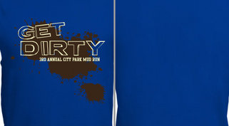 Get Dirty Mud Run Design Idea