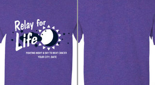 Relay for Life Moon Sun Design Idea