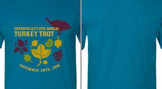 Turkey Trot Leaves Design Idea