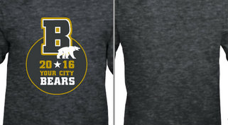 Your City Bears Circle Star Design Idea