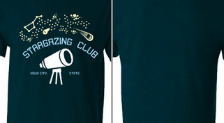 Stargazing club Design idea