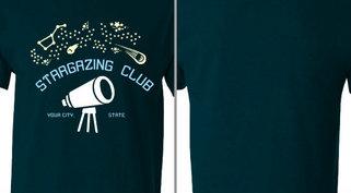Stargazing club Design idea