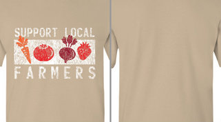 Support Local Farmers Design Idea