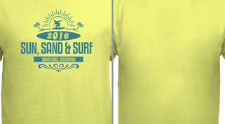 Sun Sand Surf Vacation Design Idea
