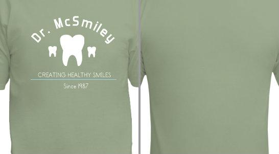 Dentist Creating Healthy Smiles Design Idea