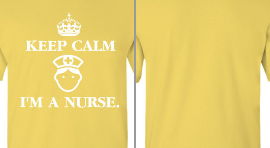 Keep Calm I'm a Nurse Design Idea