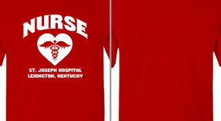 Nurse Heart St Joseph Design Idea
