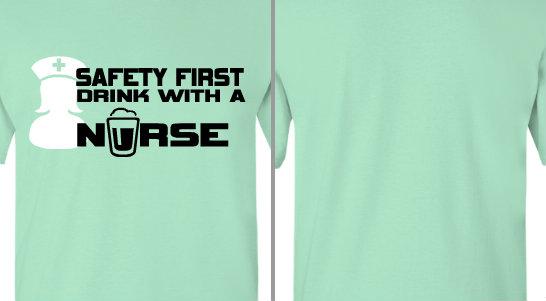 Drink with a Nurse Design Idea