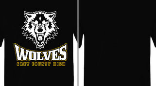 Grey County Wolves Mascot Design Idea
