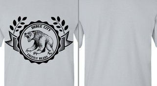 Grizzly Bears Seal Ribbon Design Idea