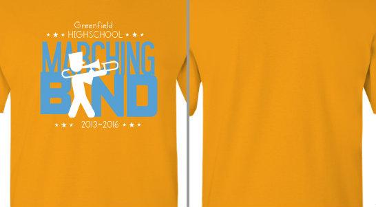 Marching Band Trombone Design Idea