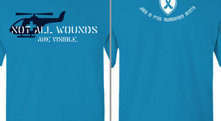 Not All Wounds are Visible PTSD Design Idea