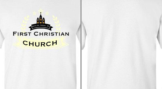 First Christian Church Ribbon Design Idea