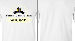 First Christian Church Ribbon Design Idea