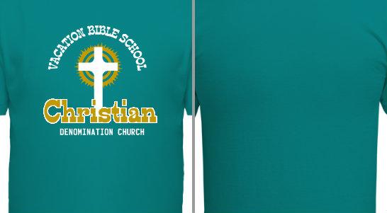 Vacation Bible School Church Design Idea