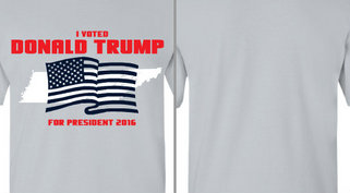 I Voted Donald Trump Design Idea