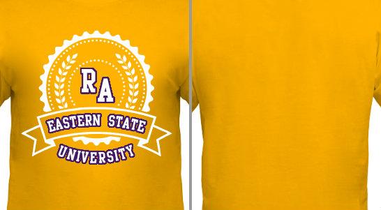 College Seal RA State University Design Idea