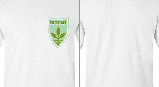 Ritter Landscaping Badge Design Idea
