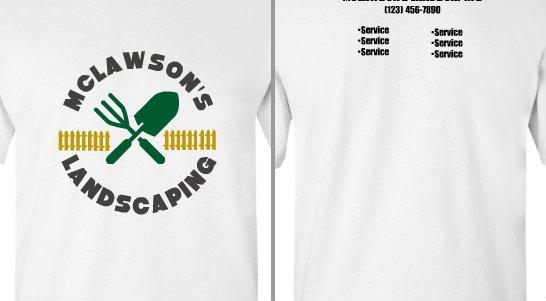 McLawson's Landscaping Shovel Fence Design Idea