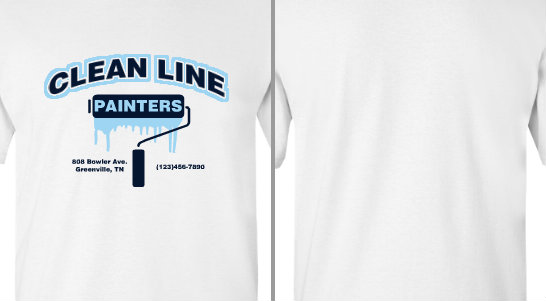 Clean Line Painters Design Idea