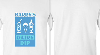 Barry's Dairy Dip Design Idea