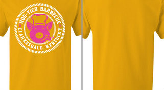 Hog Tied Barbecue Pig Design Idea