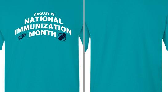National Immunization Month Design Idea