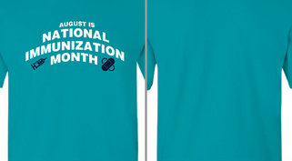 National Immunization Month Design Idea