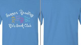 Kids Summer Reading Book Club Design Idea
